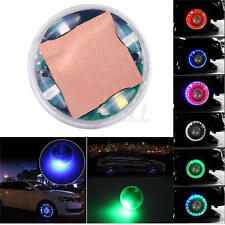 Auto Car Bike LED Flash Solar Wheel Tire Tyre Valve Cap Light Decoration Lamp