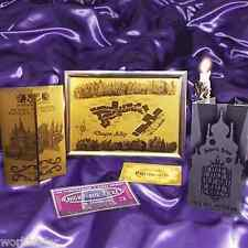 Harry Potter Maps - Yule Ball invitation, Diagon Alley Map & Marauder's Map