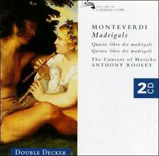 David Thomas Monteverdi: Madrigals / Rooley, The Cons CD
