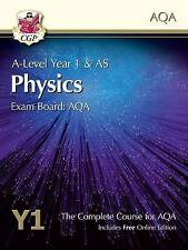 New A-Level Physics for AQA: Year 1 & AS Student Book with Online Edition by CGP