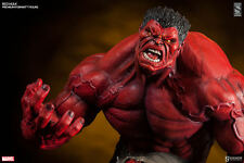 SIDESHOW EXCLUSIVE INCREDIBLE RED HULK PREMIUM FORMAT FIGURE STATUE Grey Bust