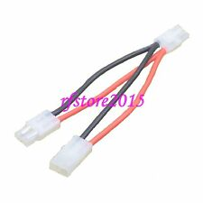 Tamiya Y Wire Harness Parallel Battery Cable Adapter for RC Car Boat