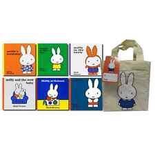 Miffy 6 Book Set Cloth Bag Collection Hardback
