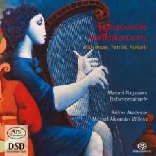 French Concertos For Harp - Masumi Nagasawa (2012, SACD NEU)