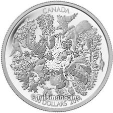 Canada 2014 Landscapes of North #1 $200 Towering Forest 2 Oz Silver Matte Proof
