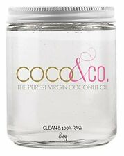 Raw Organic Coconut Oil for Face Body Skin & Hair - Topselling Natural Product