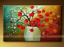 P339 Hand painted Oil Painting on Canvas Art wall Decor abstract /NO Frame