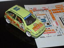 DECAL CALCA 1/43 SEAT IBIZA Gr.A A.RIUS RALLY PORTUGAL 1995