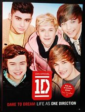 ONE DIRECTION Dare To Dream, Live As One  Book Softcover
