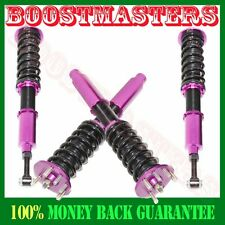 For 2003-07 Accord DX EX LX SE  2004-08 TSX PUEPLE Coilover Suspension Kit