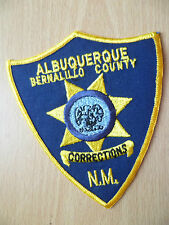 Patches: ALBUQUERQUE CORRECTIONS BERNALILLO COUNTY NEW MEXICO POLICE PATCH (NEW)