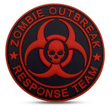 Hot  Resident Evil - BIOHAZARD LOGO PVC 3D Rubber   Patch  SJK  535