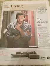 JAKE GYLLENHAAL interview SOUTHPAW LAURA TROTT UK 1 DAY ISSUE 2015