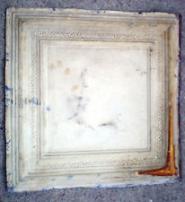 Antique Ceiling Tin Tile Simple Elegant Framed Canvas Pinterest Cottage Chic