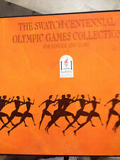Swatch Watch Historical Olympic Games Collection of 9 Watches ... NEVER WORN