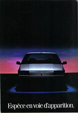 Renault 25 1984 Original French Market Foldout Sales Brochure