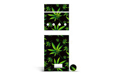 Skin Wrap For Ago G5 Pen Decal Vapor Skins Vinyl Stickers WEEDS BLACK