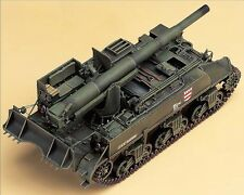 M-12 155mm GUN MOTOR CARRIAGE Plastic Model Kit Academy 1/35 Scale #13268