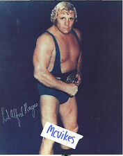 Lord Alfred Hayes WWF Autographed Signed 8x10 Photo DECEASED
