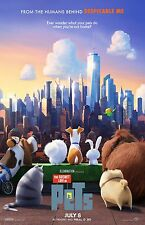 The Secret Life Of Pets movie poster print  :  11 x 17 inches : Animation