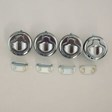 "New Set of 4 1.5""  Marine Boat Deck Hatch Flush Pull Latch Lock Practical Glo"