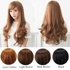 Women Ladies Fashion Long Wavy Curly Hair Cosplay Dress Costume Party Full Wigs