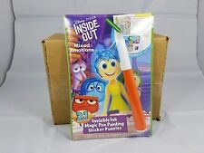 Disney Inside Out Magic Pen Ink Activity Book NEW kids games activities