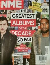 NME Arctic Monkeys TO Yeezus Greatest Albums of the decade 1/15 FREE SHIPPING