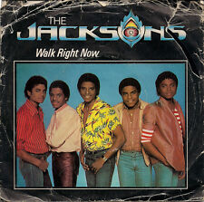 "The Jacksons Walk Right Now UK 45 7"" single +Picture Sleeve +Your Ways"