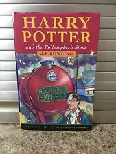 Harry Potter & The Philosophers Stone Hardback Book 1st First Edition 3rd Print