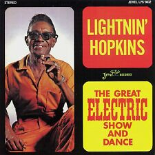 LIGHTNIN' HOPKINS The Great Electric Show And Dance JEWEL RECORDS Sealed LP