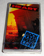 PHILIPPINES:HEART - Rock The House Live!,TAPE,Cassette,RARE,SEALED,Ann & Nancy