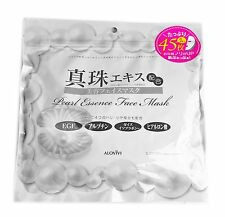 ALOVIVI Pearl Essence Face Mask 45 Sheets Resealable Pack Made In Japan