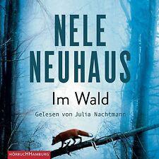 NELE NEUHAUS: IM WALD HÖRBUCH - GELESEN VON JULIA NACHTMANN - HAMBURG 8 CD NEU
