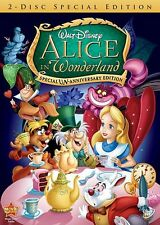 Brilliant Comedic Masterpiece Animated Classic Disney Alice in Wonderland on DVD