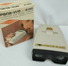 Sawyers PANA-VUE Bi-Lens Lighted 2 x 2 Slide Viewer
