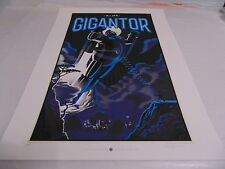 Laurent Durieux Art Poster Print Mondo Gigantor Tokyo Night ~A.P. Edition~ Stout