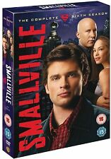Smallville Complete Season 6 DVD Series Brand New Sealed UK Original R2 Version