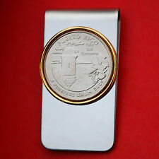 US 2009 Puerto Rico Quarter BU Uncirculated Coin Two Toned Money Clip New