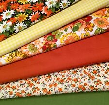 Fat Quarters Fabric Bundles Craft Floral Bunting Quilt Gingham Sewing ST CLEMENT