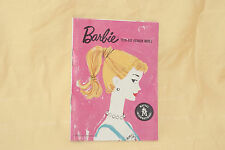 Vintage Barbie #1 Booklet Rare Version Excellent Condition