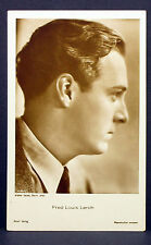 Fred Louis Lerch - Actor Movie Photo - Foto Autogramm-Karte AK (Lot-Z-1951)