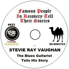 Alcoholics Anonymous AA Speaker CD - Stevie Ray Vaughan Tells His Story