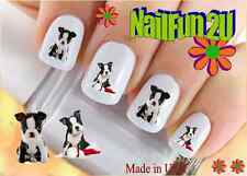 "RTG Set#114 DOG BREED ""Boston Terrier Puppy"" WaterSlide Decals Nail Art Transfer"