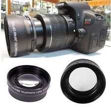 HD 2.2X OPTICAL ZOOM LENS FOR CANON REBEL EOS T3 T3I XTI XS XSI T6 300D 400D T5