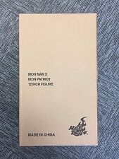 Hot Toys MMS 195 D01 Iron Man Iron Patriot War Machine Diecast Don Cheadle NEW