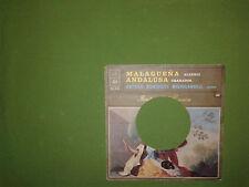 Arturo Benedetti - Malaguena – Copertina Forata Per Disco Vinile 45 Giri