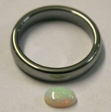 NATURAL LOOSE AUSTRALIAN OPAL GEMSTONE 0.6CT CABOCHON 6X8MM OVAL GEM OP68