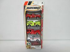 Matchbox 5 Pack Gift Set Fire with Rescue Truck 305