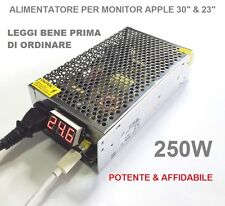 ALIMENTATORE 250 W.  sostituisce APPLE A1098  x Cinema HD Display 90W e 150W